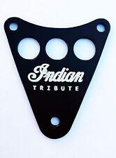 Indian Theme Dash Plaque Cover - KAWASAKI  VN800  VULCAN DRIFTER