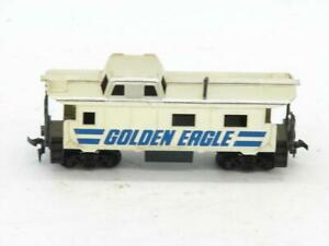 TYCO HO Scale Diesel Golden Eagle Plated Caboose