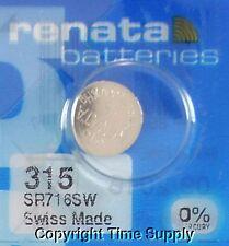 1 pcs 315 Swiss Renata Watch Batteries SR716SW SR716SW 0% MERCURY