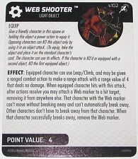 WEB SHOOTER S102 Superior Foes Of Spider-Man Marvel HeroClix
