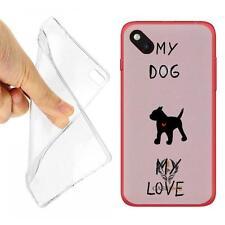 CUSTODIA COVER CASE TPU CASEONE MY DOG PER WIKO SUNSET 2 OPACO