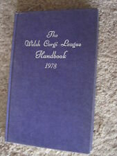 The Welsh Corgi League Handbook 1978