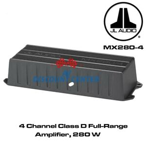 JL Audio MX280/4 marine/powersports 4-channel amplifier 50X4 RMS WATTS NEW
