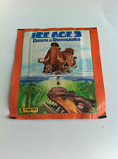 Sealed Packet of Ice Age 3 Dawn Of the Dinosaurs Panini Stickers 2009 Film Movie