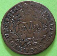 PORTUGAL 5 REIS MARIA I 1799