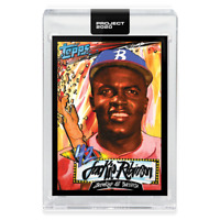 Topps PROJECT 2020 Card 253 - 1952 Jackie Robinson by King Saladeen preorder