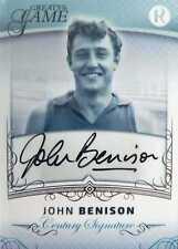 2017 Regal GREATS OF THE GAME - CENTURY Signature - John BENISON #83/100