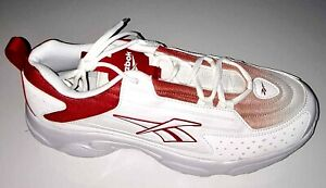 Reebok DMX Series 2200 Sport Shoes Running Shoes Men's Shoes White Red 45 45.5