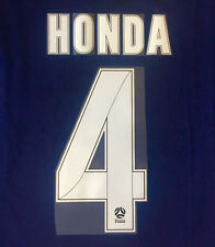 MELBOURNE VICTORY HONDA #4 A-LEAGUE NAME AND NUMBER SET FOR HOME JERSEY