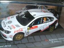 """1/43 SUBARU IMPREZZA WRC 2010 PORTUGAL RALLY """"MADS OSTBERG""""  IXO/ALTAYA"""
