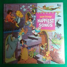 Walt Disney's Happiest Songs 1967 LP Record DL-3509 Gulf Oil