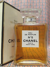 Vintage early 90s Chanel No 5 Eau de Parfum 1.7 oz 50 ml FULL Boxed OLD FORMULA