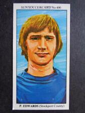 The Sun Soccercards 1978-79 - Paul Edwards - Stockport County #400