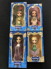 Rare Complete Set of 4 Groove Inc Pullip Walt Disney Peter Pan Dolls New Sealed