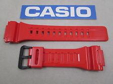 Genuine Casio Tough Solar AQ-S810WC-4 resin watch band glossy orange 18mm lug