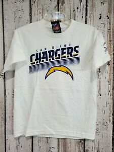 LZ Reebok Youth Medium San Diego Chargers Short Sleeve Tee Shirt T-Shirt NEW