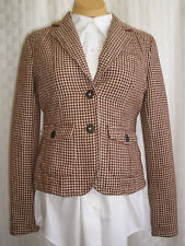 AMERICAN EAGLE OUTFITTERS WOMEN'S TWEED WOOL BLEND BLAZER JACKET SIZE M NICE NEW
