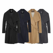 Waterfall Autumn Coats & Jackets without Fastening for Women