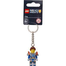LEGO NEXO KNIGHTS CLAY KEY RINGS/BAG CHARMS 853524 NEW