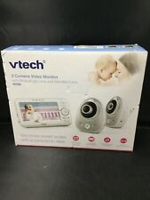 Authentic Vtech 5-Inch Video Baby Monitor with 2 Cameras (Vm352-2)