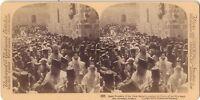 Gerusalemme Pasqua Greco Grecia Stereo Stereoview Vintage