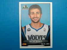 2014-15 Panini NBA Stickers Collection N.281 Ricky Rubio Minnesota Timberwolves