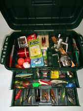 Plano Guide Elite with Top Storage 2 Drawers 2 Removable Boxes Lots of Tackle