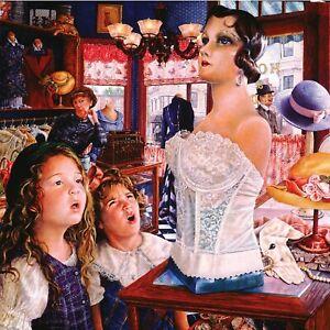Mannequin 1000 Pc Jigsaw Puzzle Susan Brabeau Sunsout girls ladies dress shop