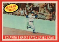 1959 Topps #462 Rocky Colavito NEAR MINT+ Cleveland Indians FREE SHIPPING