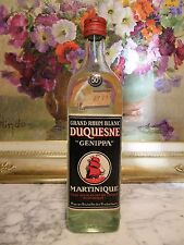 "RUM – 1959 GRAND RHUM BLANC 50° ""GENIPPA"" DUQUESNE – MARTINIQUE"