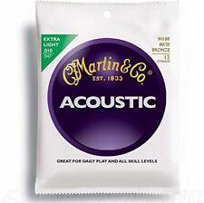 Martin M-180 Jeu de 12 cordes pour Guitare Acoustique Extra-light