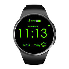 KW18 MTK2502C Heart Rate Sleep Monitor Bluetooth Smart Watch for Android IOS