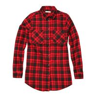 Men's Slater Long Sleeve Check Shirt Red/Navy