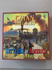 Catan Histories: Settlers of America Board Game