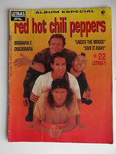BRAZIL Magazine 1992 Special Red Hot Chili Peppers Lyrics and photos