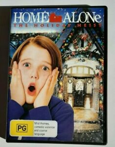 Home Alone The Holiday Heist  Christian Martyn PAL DVD R4 VGC