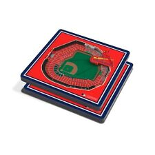 St Louis Cardinals MLB - 3D Stadium Coasters