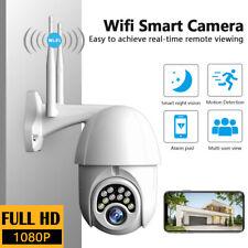 Waterproof Outdoor WiFi PTZ Pan Tilt 1080P HD Security IP IR Night Vision Camera