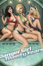 J Scott Campbell Danger Girl Twenty Years Nathan Szerdy Variant Cover Art Issue