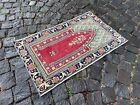 Handmade rug, Small rug, Doormats, Turkish rug, Vintage rug | 1,7 x 2,8 ft