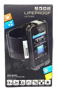 LifeProof Sport Running Jogging Gym Waterproof Armband For iPhone 4S & 4 Black