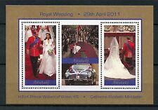 Aitutaki Cook Isl 2011 MNH Royal Wedding Prince William Kate 2v M/S Stamps
