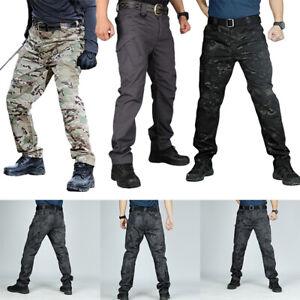 Mens Waterproof Hiking Tactical Trousers Outdoor Fishing Walking Regatta Pants