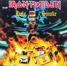 Iron Maiden - Holy Smoke EP Vinyl LP Heavy Metal Sticker or Magnet