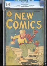 New Comics #1 Cgc 6.0 Fn Universal Cgc #0083453002