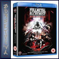 FULLMETAL ALCHEMIST BROTHERHOOD - COLLECTION TWO  **BRAND NEW BLU-RAY  **