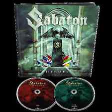 SABATON HEROES DOUBLE CD DELUXE EDITION EARBOOK NEUF SCELLÉ