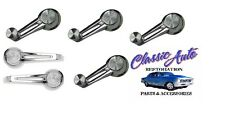 62-64 GM DUAL ARM CHROME KNOB WINDOW CRANK / HANDLE KIT