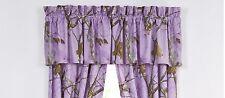 Realtree Camo Lavender Valance - Purple Camouflage