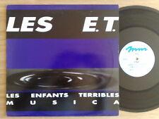 """LES ENFANTS TERRIBLES (E.T.) - MUSICA - 45 GIRI MAXI-SINGLE 12"""""""